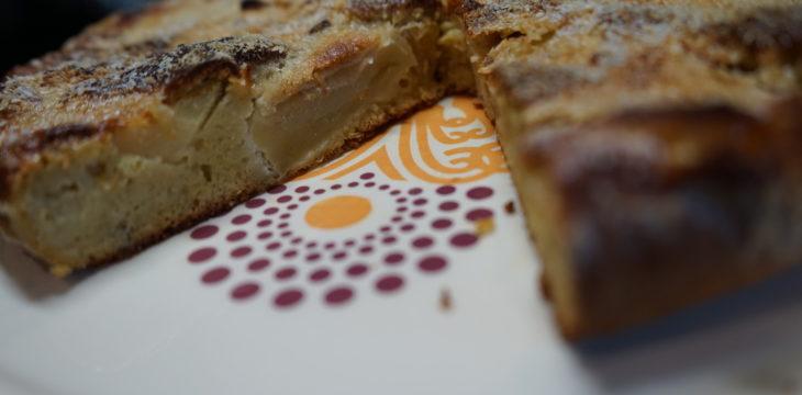 Apfelkuchen mit Süßlupinenmehl